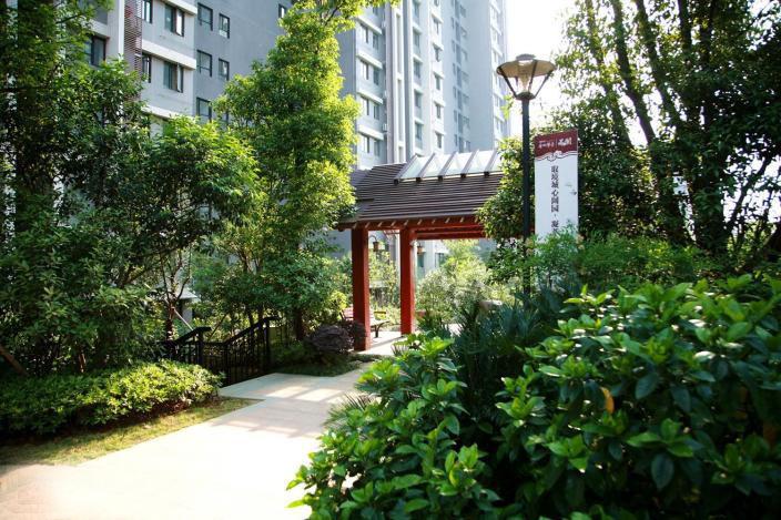 武汉香榭琴台住宅景观