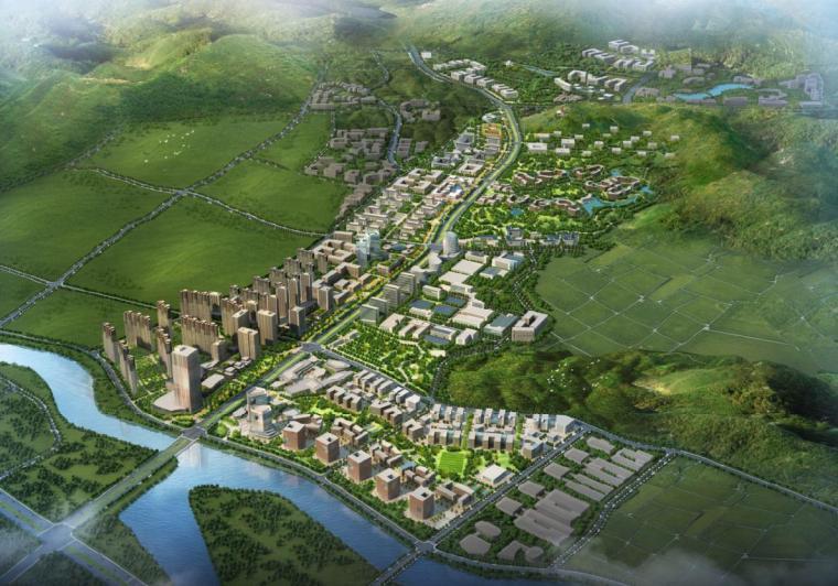[浙江]小高层及多层现代风格特色小镇规划建筑设计方案文本