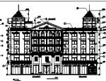 5层欧式酒店建筑施工图