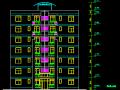 昆明高层框剪结构住宅二期规划施工图(中深建筑)