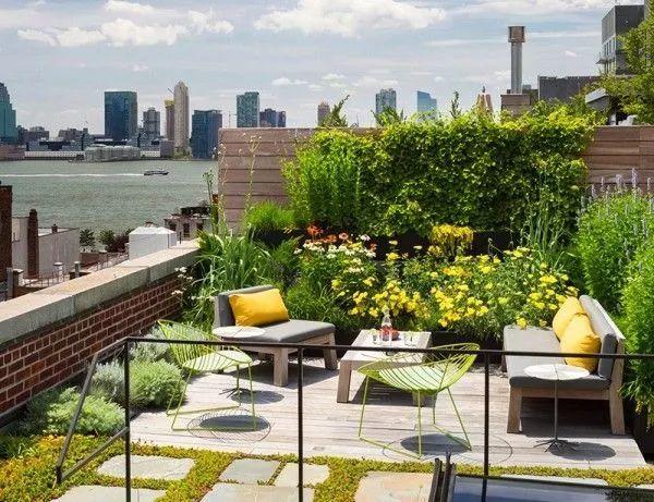 这样的阳台设计,简直多了一个花园!