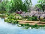 [上海]森林湿地生态园林景观大道设计方案