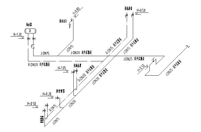 南京高层住宅小区给排水施工图(二期)