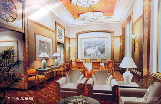 北京某大型饭店室内装饰工程施工组织设计(18层\\19层)