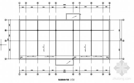 某学校游泳池及附属机房给排水设计图