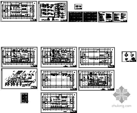 某热力站采暖设计全套图