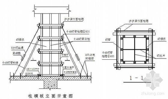 某体校学生宿舍楼工程施工组织设计(框剪结构)