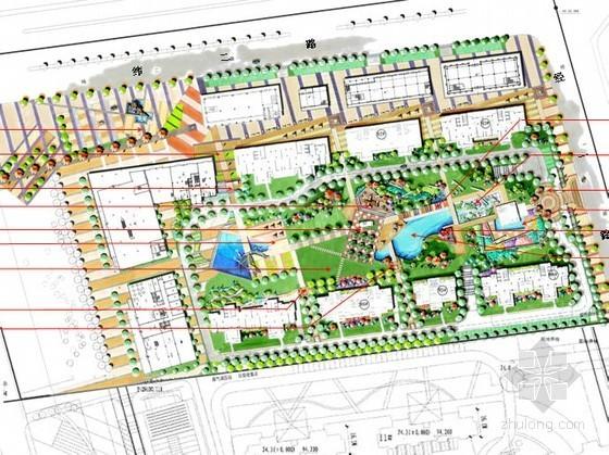 商住两用居住区景观概念设计方案
