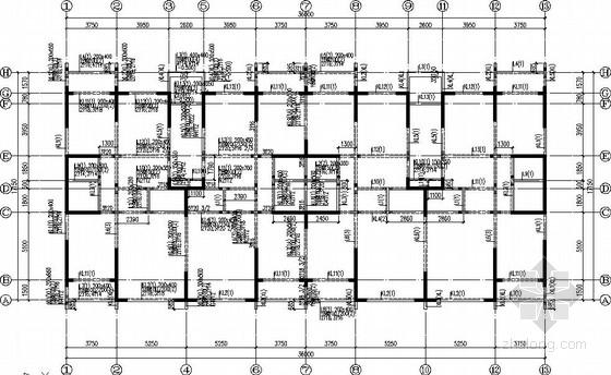 [内蒙古]老年社区框剪结构施工图