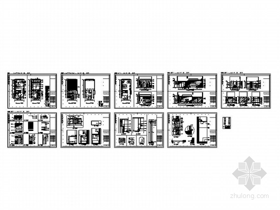 [甘肃]44平方客房设计施工总缩略图