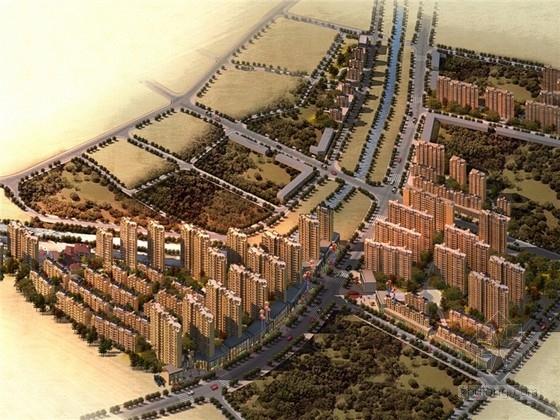 [湖南]简欧风格高层住宅小区规划与景观设计方案文本