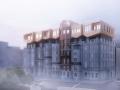 将视线上移:翻转的垂直城市概念