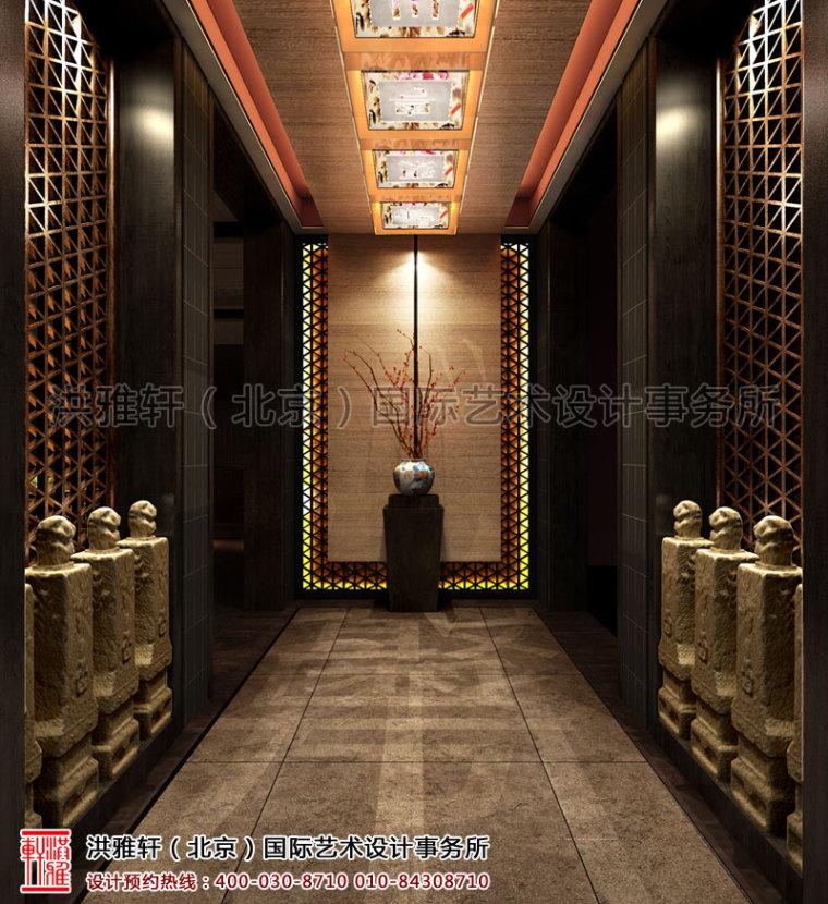 北京长楹天街新中式餐厅装修_2