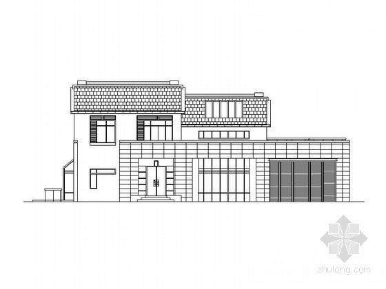 [江苏]现代风格别墅区规划设计方案(含效果图)