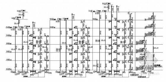 高档商业广场排水施工图192张图片