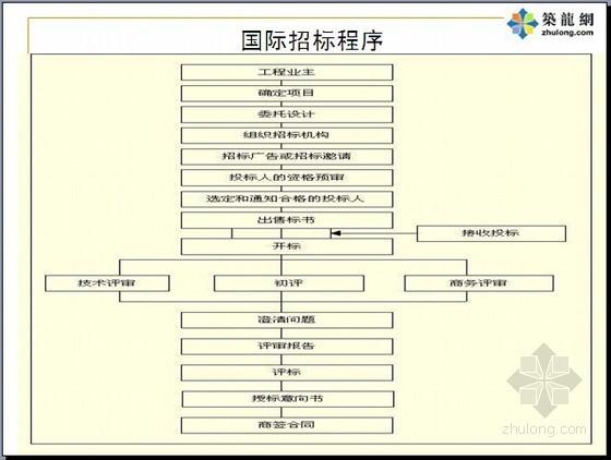 国际建设工程招投标管理培训讲义(名校编制 230页)