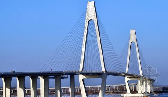 [辽宁]大跨度双塔双索面钢箱梁斜拉桥施工组织设计(133页 附CAD图)
