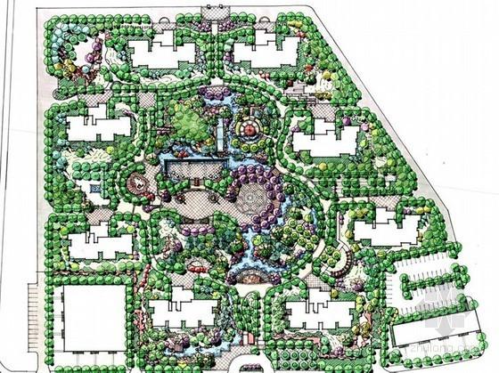[天津]居住区景观设计方案汇报