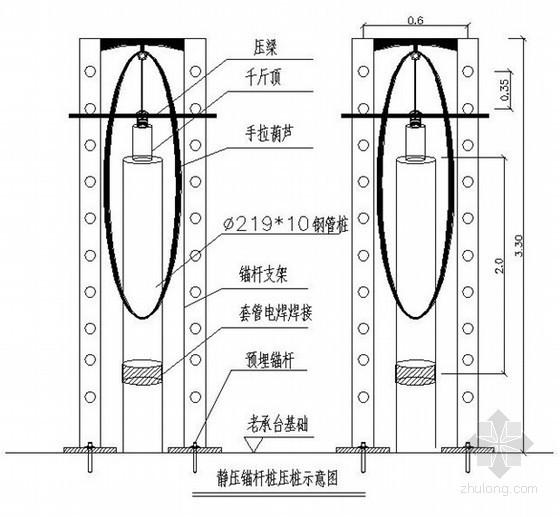 [上海]房屋修缮施工组织设计(钢架混凝土框架 锚杆静压桩)