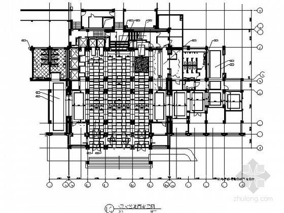[北京]国际高档商务四星级酒店施工图(含实景)