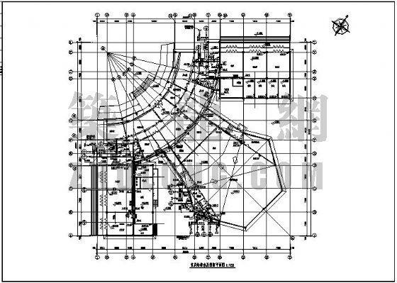 内蒙古某办公楼给排水及消防设计图