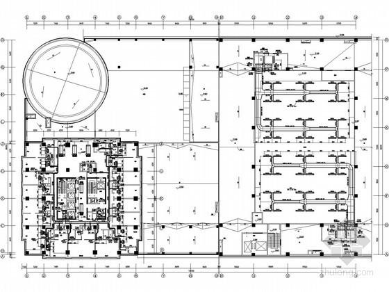 [济南]五星级酒店综合楼空调通风全套施工图(10万平)