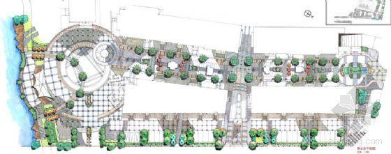 天津某商业街二期景观扩初设计方案