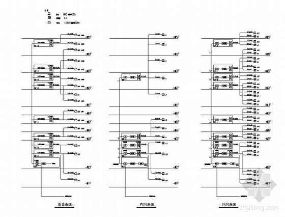某温泉假日酒店全套智能化系统电气施工图