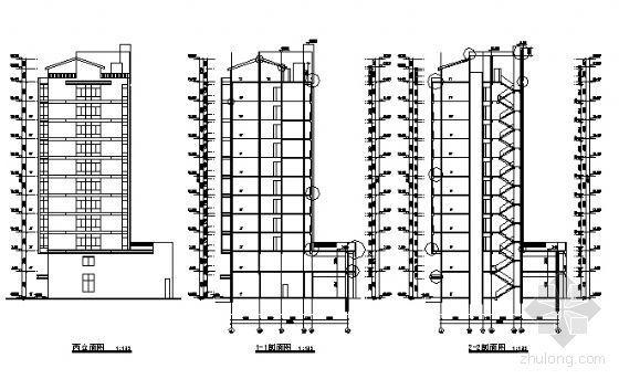 某十一层住宅楼建筑设计施工图-2