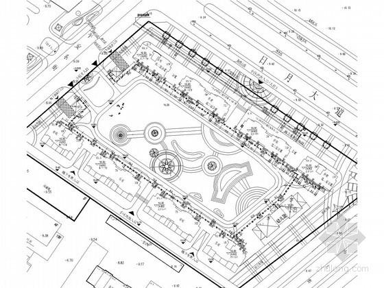 某花园广场综合管网施工图