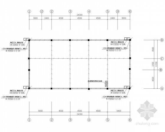 综合管理用房接地平面图