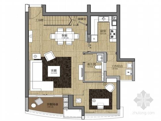 [上海]现代简约创意样板房深化设计方案(含效果图)