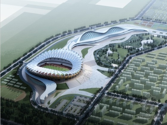 [内蒙古]某甲级大型体育中心规划及单体设计方案文本
