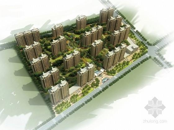 [西安]低调奢华住宅小区景观规划设计方案