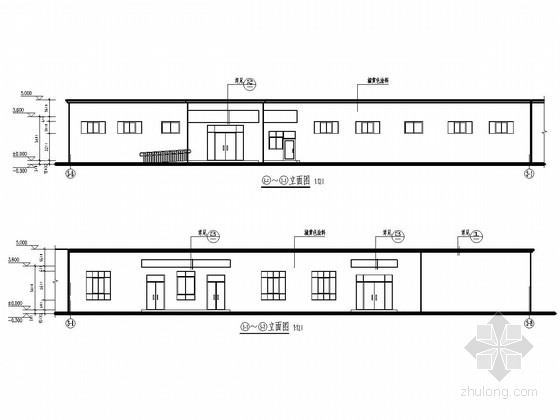 砖混结构校园幼儿园结构施工图(含建筑图)