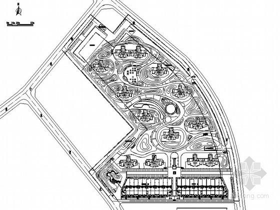 [内蒙古]生态居住区景观设计施工图(全套)