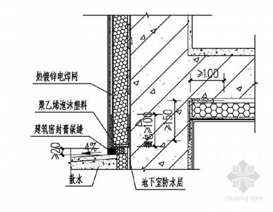 [天津]高层住宅楼工程外墙保温施工方案