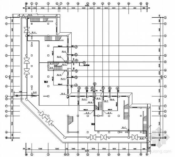 六层商住楼给排水图纸