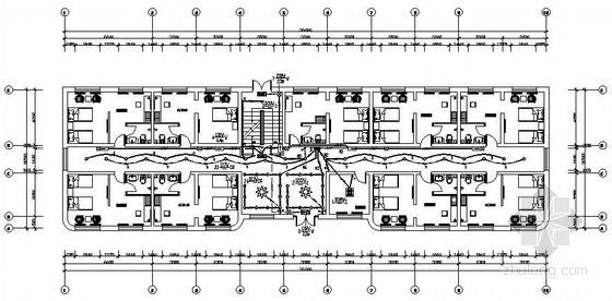 四层酒店电气施工图纸