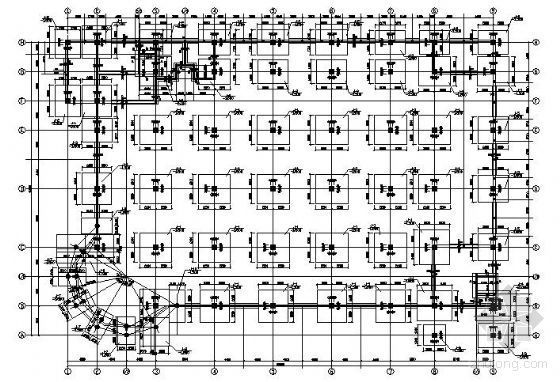 某三层大型超市结构施工图纸