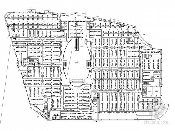 VAV空调系统设计说明资料下载-[广东]建材商贸城空调系统设计施工图(CAV系统 VAV系统)