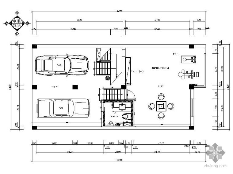 [宁波]某四层经典别墅装修施工图