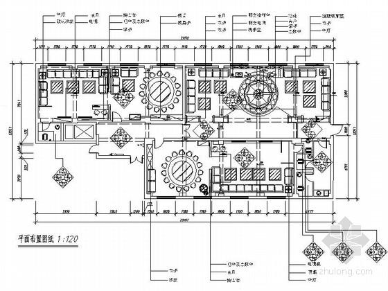 [长春]某现代时尚KTV室内装修施工图