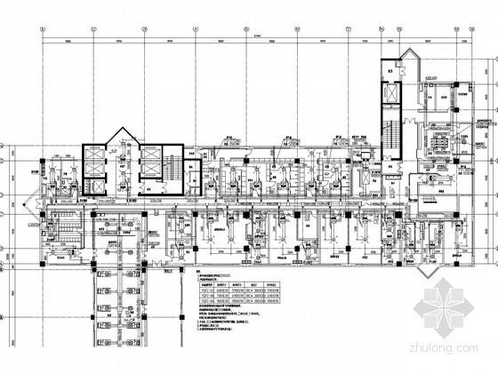[江苏]医院手术部集中空调系统设计施工图