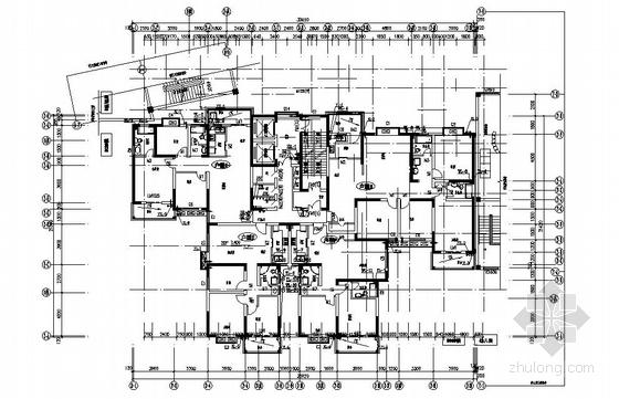 安徽某二十八层住宅楼给排水设计图