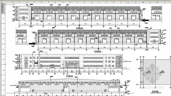 海尔某物流标准钢结构厂房报价