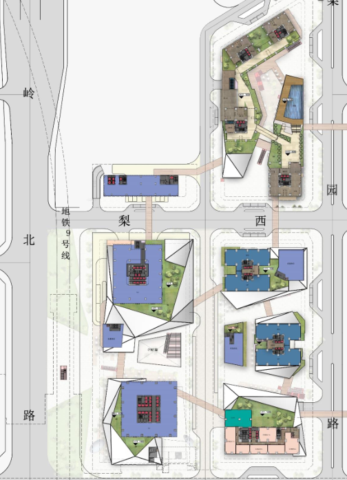 [深圳]超高层呢双子塔物流中心建筑设计方案文本(含CAD图纸)_10