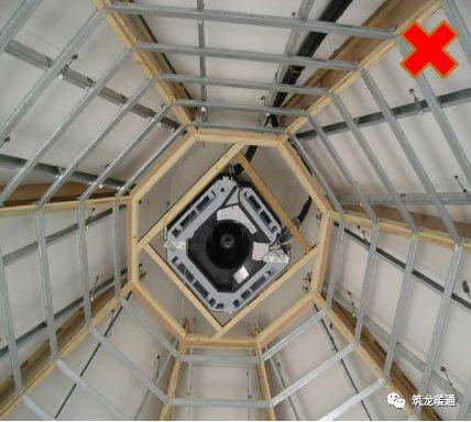 风管安装常见11项质量问题实例,室内机安装质量解析!_40