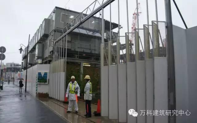 全方位围观日本建筑工地,从大门/围档/主体施工到内部管理