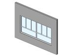 bim软件应用-族文件-推拉窗